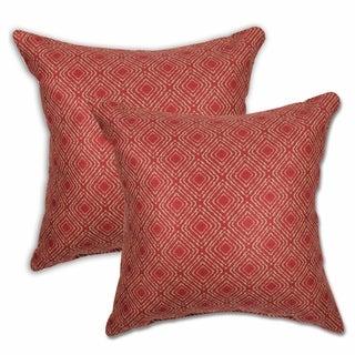 Isabella Crimson Tide Throw Pillows (Set of 2)