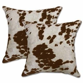 Udder Madness 22-inch Decorative Throw Pillows (Set of 2)