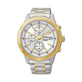 Seiko Men's SKS456 Stainless Steel Chronogrph Watch