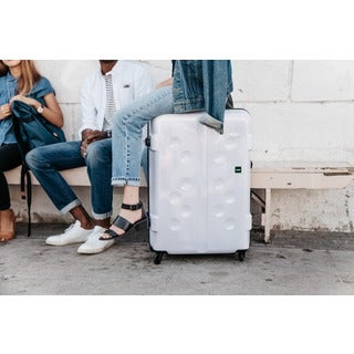 Lojel Carapace 32-inch Urban Styling Hardside Spinner Upright Suitcase