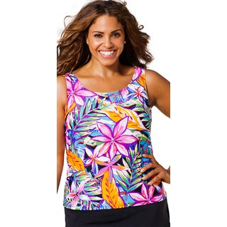 Beach Belle Plus-size Queensland Tankini Top