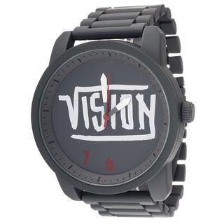 Vision Street Wear Legend Grey Metal Round Watch