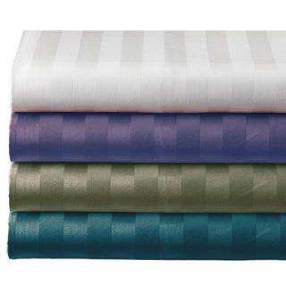 Egyptian Cotton Damask Stripe 800 Thread Count Sheet Set