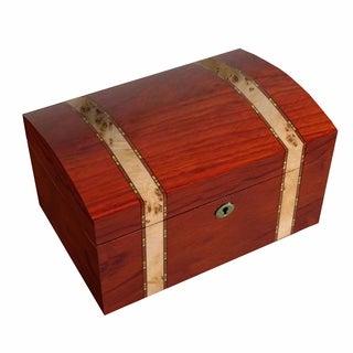 Bubinga Mapa Burl Inlay Valet Box