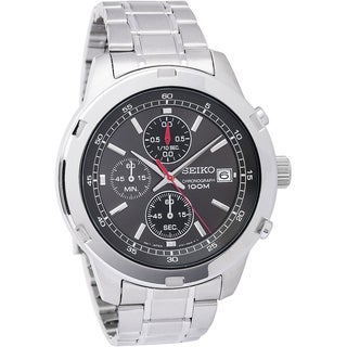 Seiko Men's SKS431 Stainless Steel Chronograph Watch