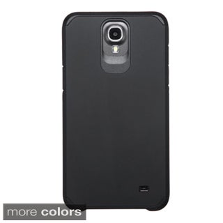 Insten Hard PC/ Silicone Dual Layer Hybrid Rubberized Matte Phone Case Cover For Samsung Galaxy Mega 2