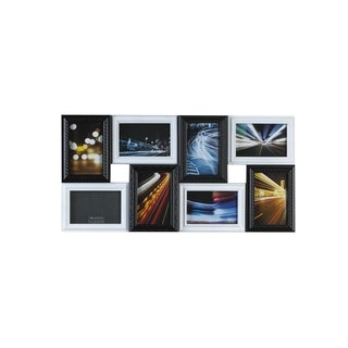 Melannco Black and White Collage Picture Frame