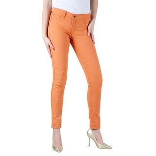 Women's Bleulab Red/ Orange Reversible Jean