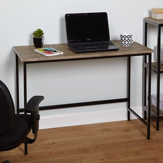 Simple Living Piazza Wood and Metal Desk