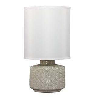 Signature Design by Ashley 1-light Grey Ceramic Table Lamp