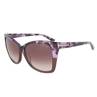 Tom Ford Women's TF0295 Carli Oversize Sunglasses