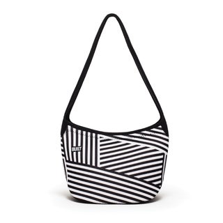 Built Dazzle Stripe Hobo Shoulder Lunch Tote