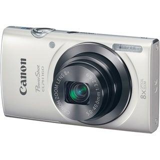 Canon PowerShot ELPH 160 20 Megapixel Compact Camera - White