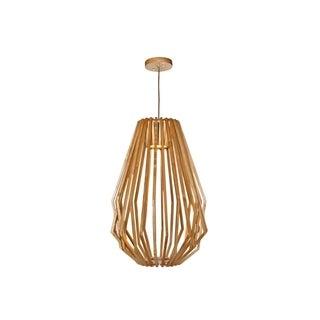 Saki LED Wood Wood 1-light LED Pendant