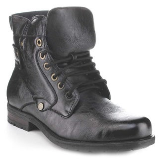 Polar Fox Men's Mpx-506011 Metal Eyelets Lace-Up Stylish Booties