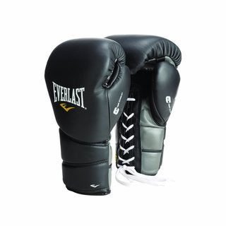 Everlast ProTex2 Leather Lace Up Training Gloves