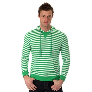 Something Strong Men's Striped Pullover Hoodie
