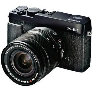 Fujifilm X-E2 Mirrorless Digital Camera with 18-55mm Lens Black