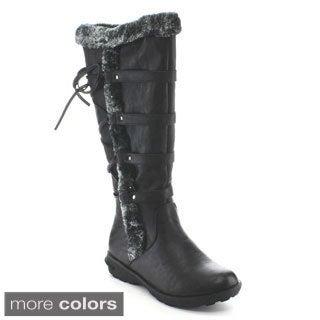 Forever' Aura-42' Women's Inside Zipper Knee-high Cold Weather Boots