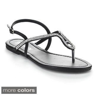 Diviana 'Jalila-39' Women's Sling-back Thong Sandals