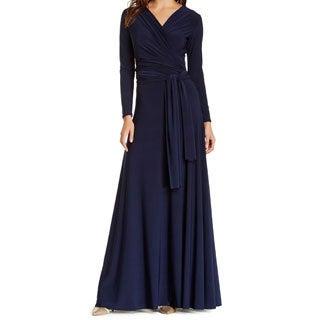 Von Ronen Women's Victoria Long Sleeve Convertible Maxi Dress