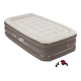 Coleman Supportrest Plus Pillowtop Double High Airbed Twin
