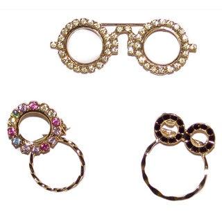 Detti Originals Crystal Spec Pins (Set of 3)