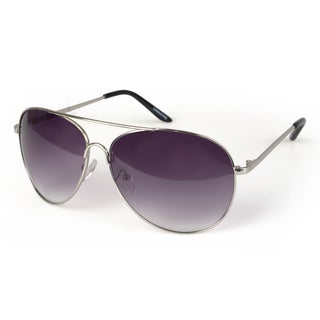 Journee Collection Unisex Aviator Fashion Sunglasses