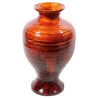 Essential Lacquer Bamboo Urn