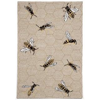 Bumble Bee Outdoor Rug (5'X7'6)