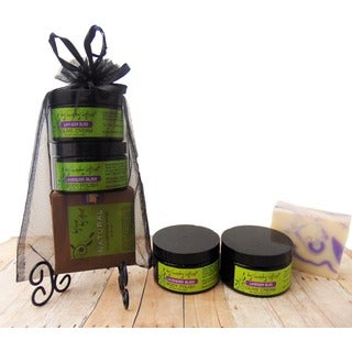 Karess Krafters Lavendar Bliss Bath and Body 3-piece Gift Set (Overstock Exclusive)