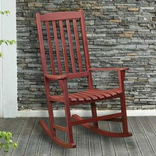 Upton Home Hardwood Porch Rocker
