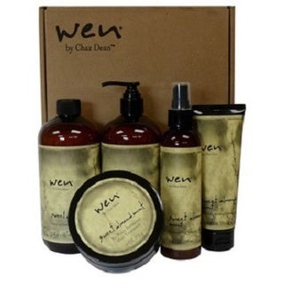 Wen by Chaz Dean 90-day Sweet Almond Mint Hair Care 6-piece Kit