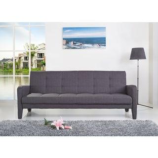 ABBYSON LIVING Florence Grey Fabric Sleeper Sofa