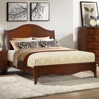Wynter Classic Mahogany Oak Bed