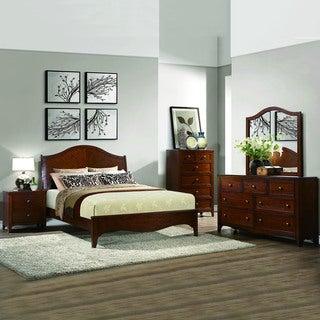 Wynter Classic Mahogany Oak 5-piece Bedrrom Set