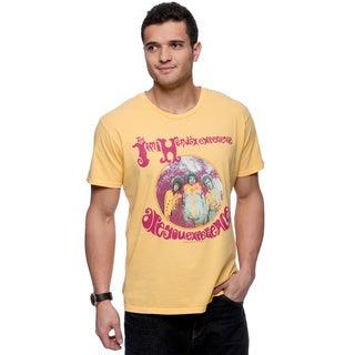 Riff Stars Men's Jimi Experience Yellow T-shirt