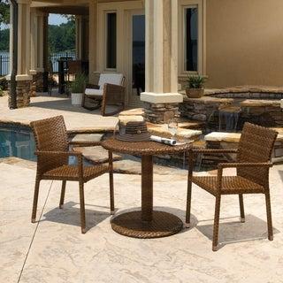 Panama Jack 3-piece St. Barths Bistro Arm Chair Set