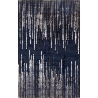 Hand-Tufted Camilla Geometric New Zealand Wool Rug (8' x 11')