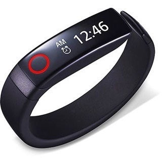 LG FB84-BL Lifeband Touch Fitness Activity Tracker (Refurbished)