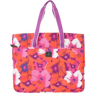 French West Indies Flower Garment Tote Bag