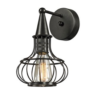 Oil Rubbed Bronze Yardley Collection 1-Light sconce