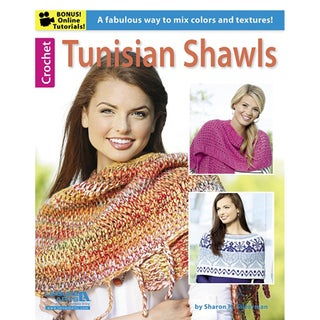 Leisure Arts-Tunisian Shawls