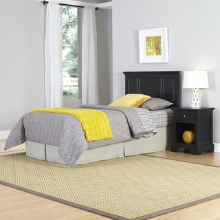 Bedford Twin Headboard and Night Stand