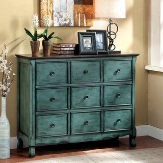 Furniture of America Viellen Vintage Style Antique Storage Chest