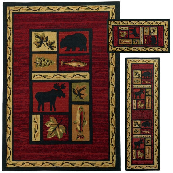 28 lodge rugs on sale red deer lodge rug 8 x 11