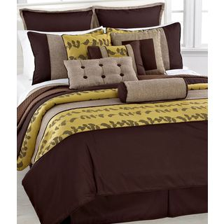 Fashion Street Khloe 11-piece Comforter Set