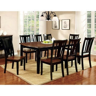 Furniture of America Betsy Jane 9-Piece Country Style Dining Set