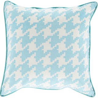Decorative Collins 22-inch Poly or Down Filled Throw Pillow
