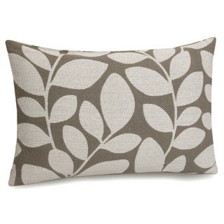 Jovi Home Fern Jacquard Grey Decorative Pillow Cover